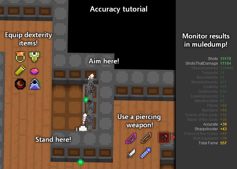 RotMG Price Guide Of 2012