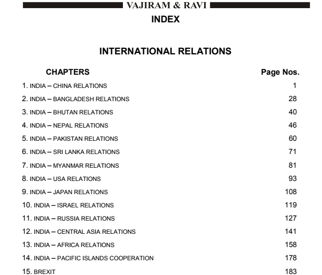 international relations notes Download and look at thousands of study documents in international relations on docsity find notes, summaries, exercises for studying international relations.