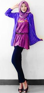 Desain Baju Muslim Casual Remaja