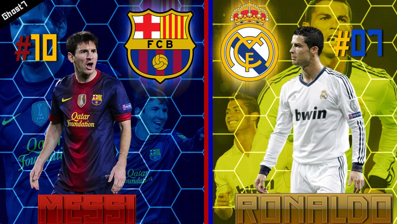 Start Screen L.Messi vs C.Ronaldo - PES 2013