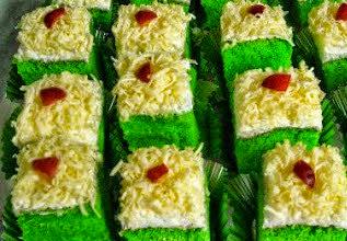 Resep Cara Membuat Cake Pandan Krim Keju