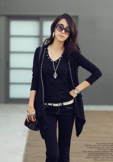 Cute Girls Korean Fashion Style Casual 2012