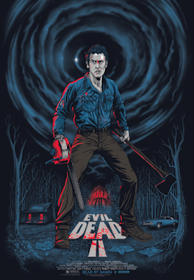 Evil Dead 2 Standard Edition Screen Print by Gary Pullin