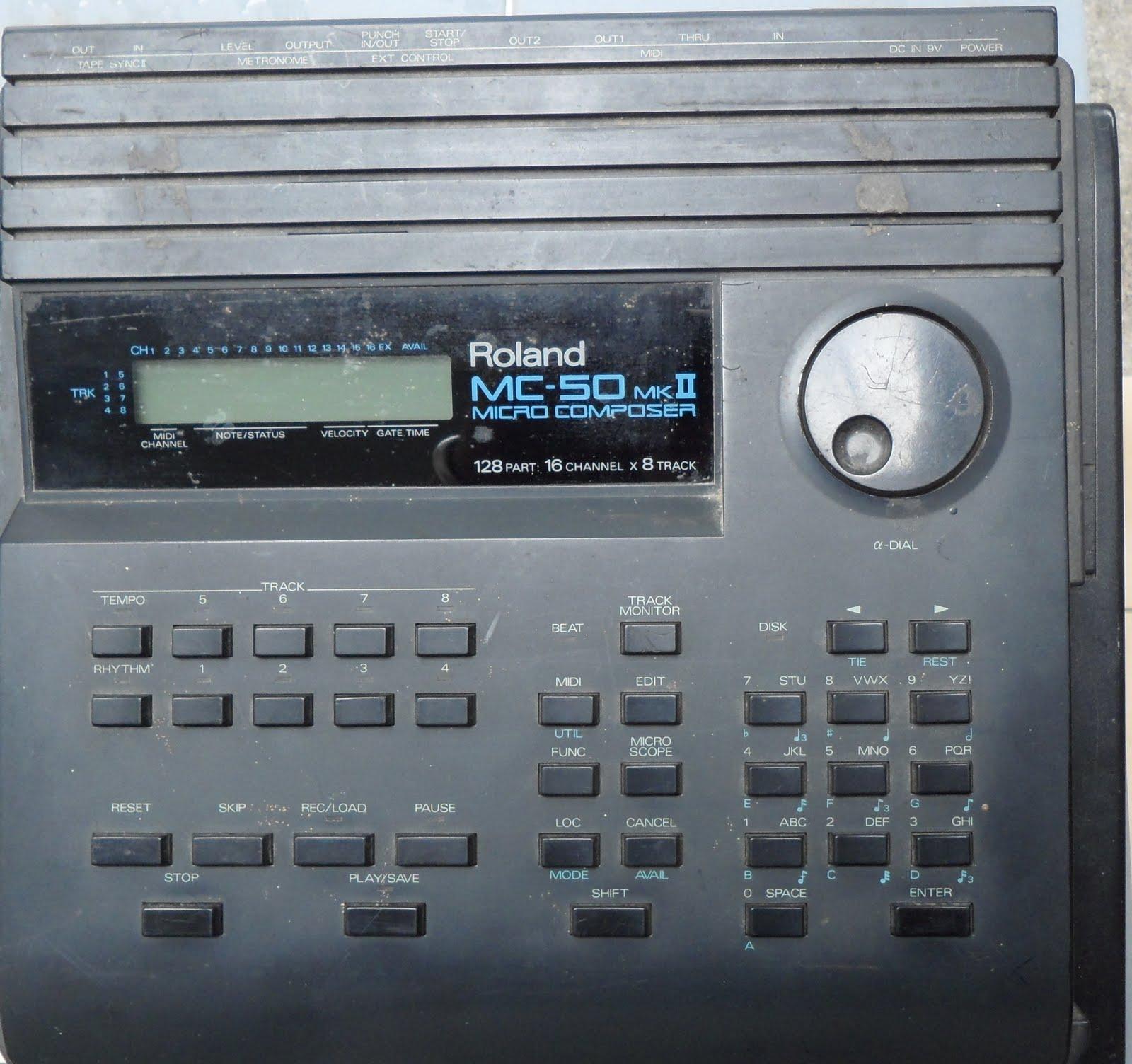 Roland MC-50 Micro Composer MIDI Sequencer MC50