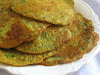 Savory Fenugreek and Coriander Pancakes