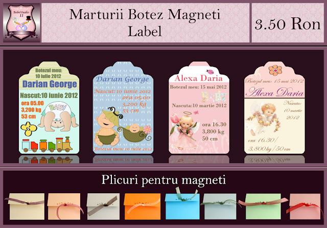 marturii botez label