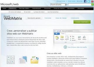 Microsoft-WebMatrix