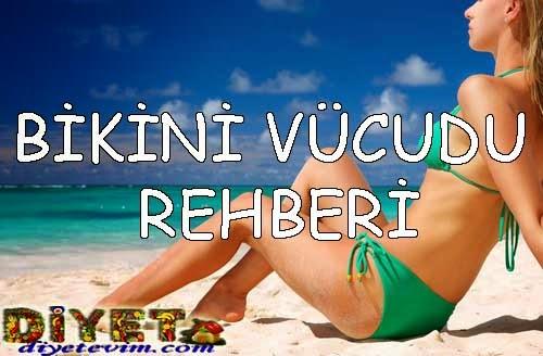 bikini vücudu için