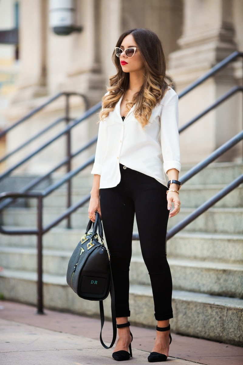 Because Sometimes The Best Accessory Is Just A Red Lip