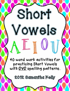 http://www.teacherspayteachers.com/Product/Short-Vowels-CVC-392416