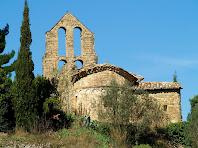 Sant Pere de Vallhonesta per la part de llevant