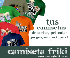 camiseta friki