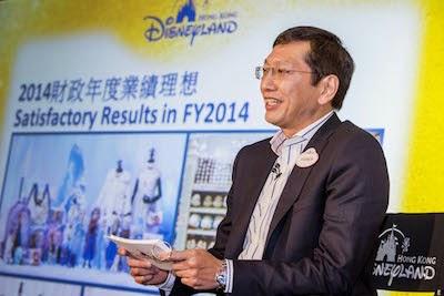 香港迪士尼樂園連續第五年創新高