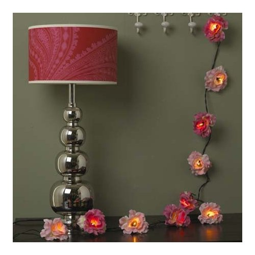 shabby chic fairy lights and how to hang them i heart. Black Bedroom Furniture Sets. Home Design Ideas