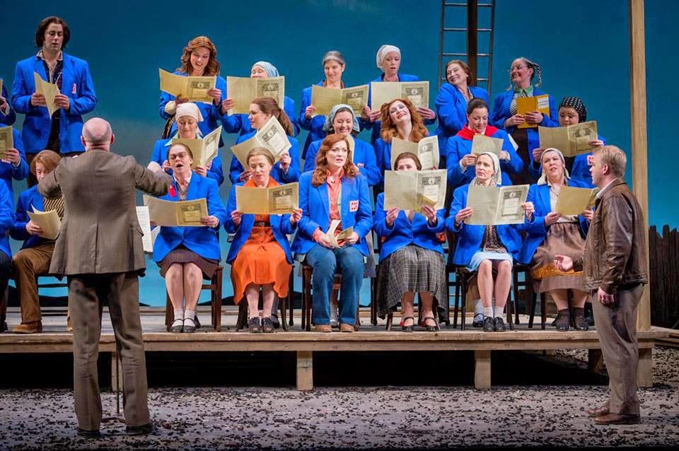 The Bartered Bride - Opera North 2014 Photo Credit: Robert Workman