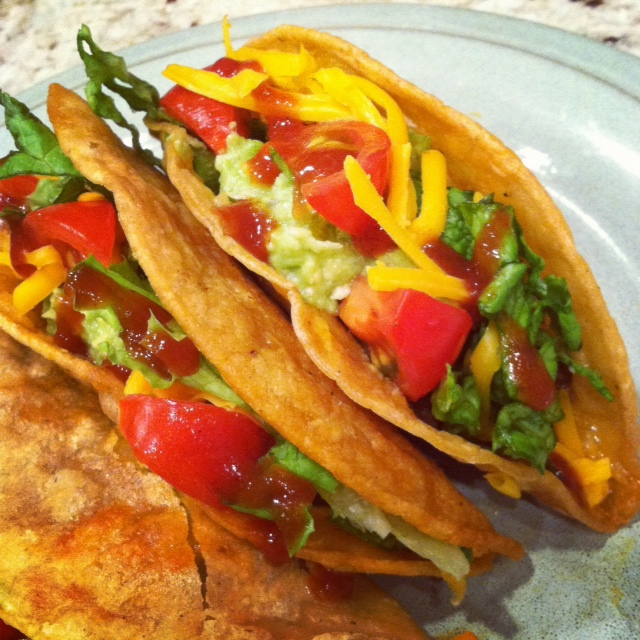 Because of Madalene: Crispy Ground Beef Tacos