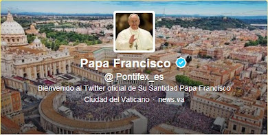 PAPA FRANCISCO EN TWITTER.