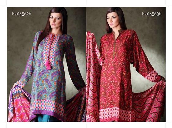 Khaddar Winter Kurti Dress Collection