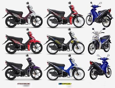 Daftar Harga Motor Yamaha Force