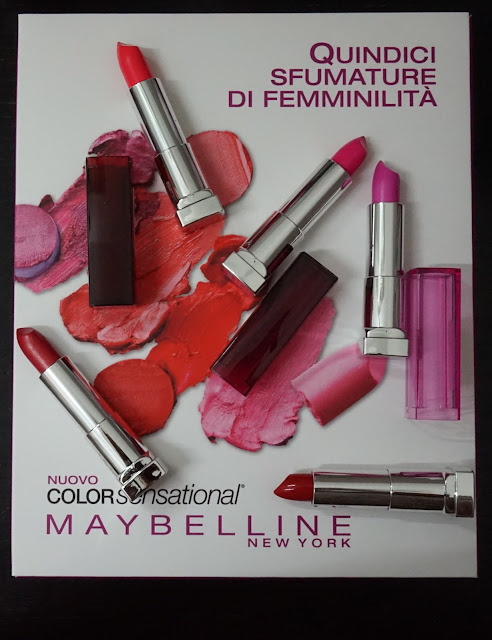 #bloggersummerbox bloggeritalia collaborazione color sensational maybelline new york