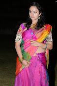Malavika nair photos in half saree-thumbnail-18