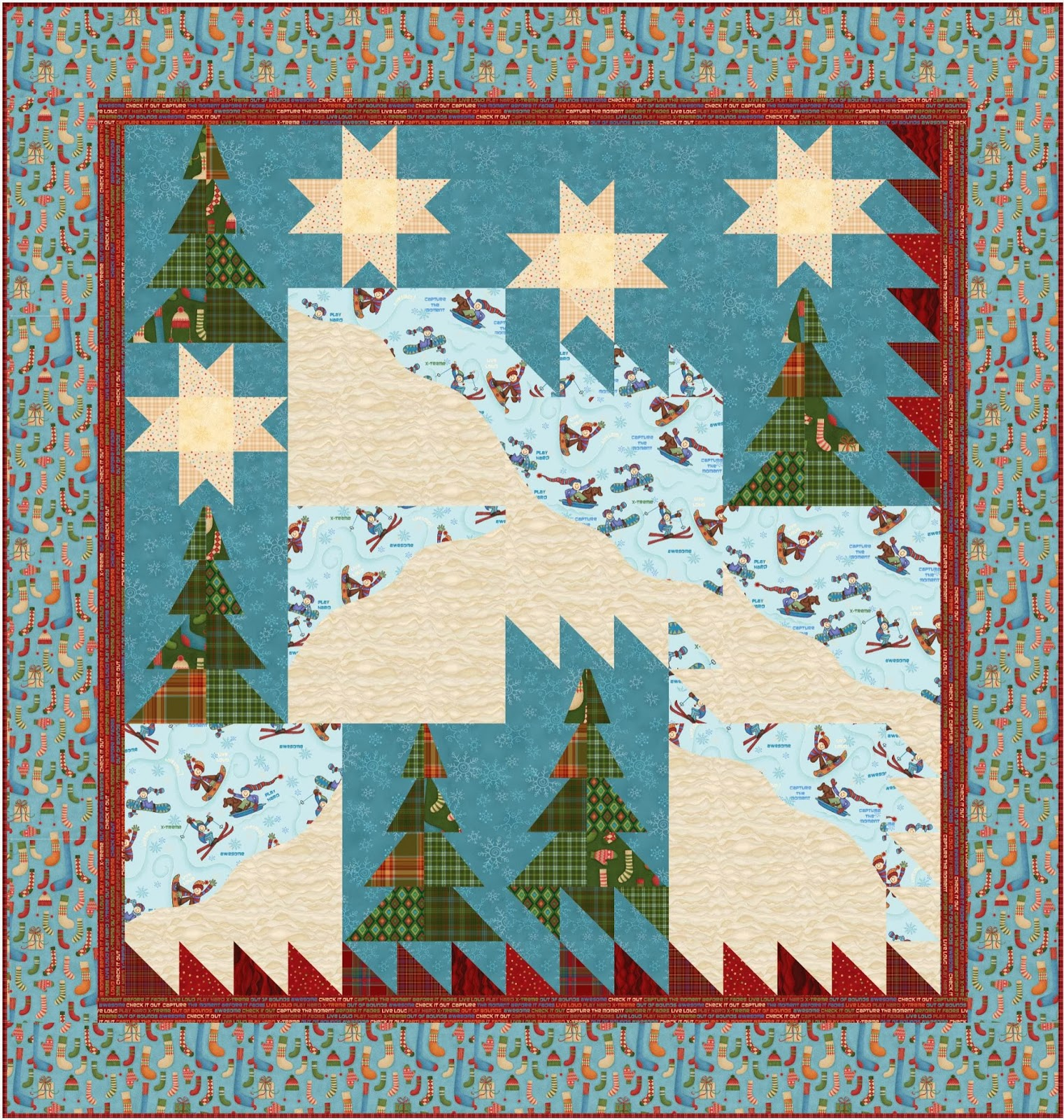 Free pattern day: Christmas 2015 (part 1) | Quilt Inspiration ... : oh henry quilt pattern - Adamdwight.com