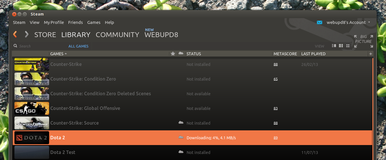 dota 2 officially released for linux steam web upd8 ubuntu