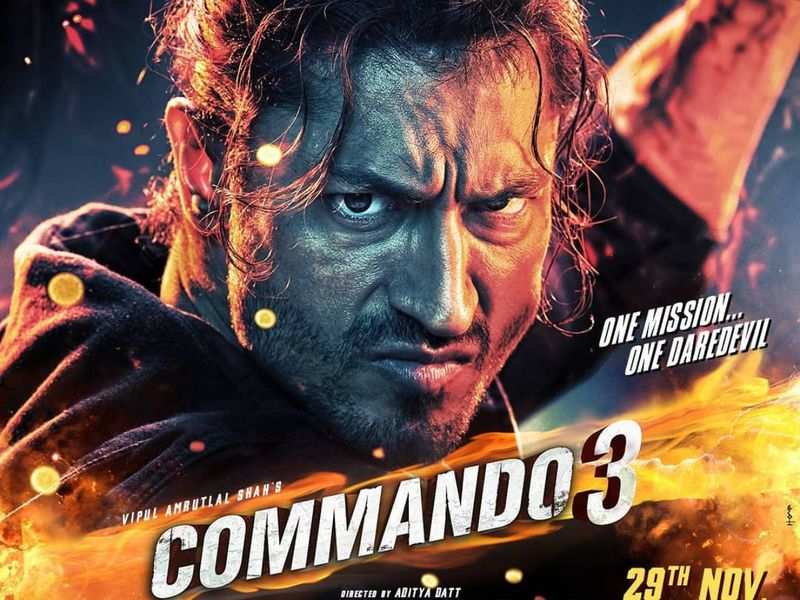 Commando 3 (2019) Hindi Movie Pre-DVDRip 700MB