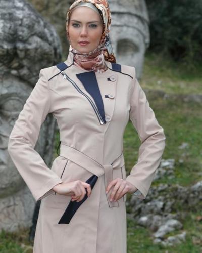 Esin Giyim 2013 ilkbahar Yaz Tesettür Pardesü Modelleri