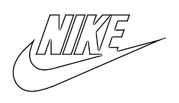 Nike Logo Coloring Pages