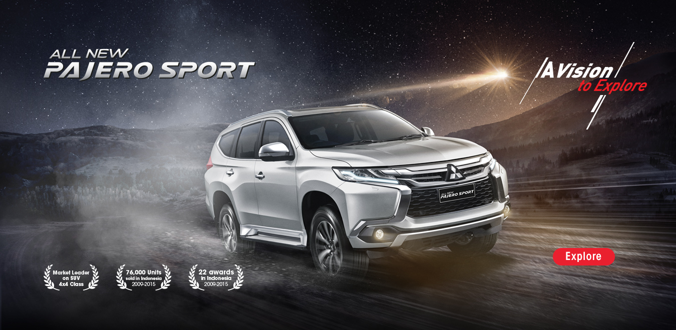 Mitsubishi All New Pajero Sport Padang