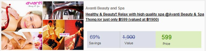 Beauty and Spa Deals (June 08, 2014 Remaining 23 days) Avanti Beauty and Spa | Savings 69%
