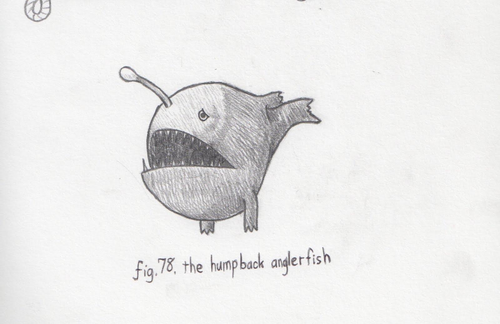 Jun Makes Stuff: #96 The Humpback Anglerfish