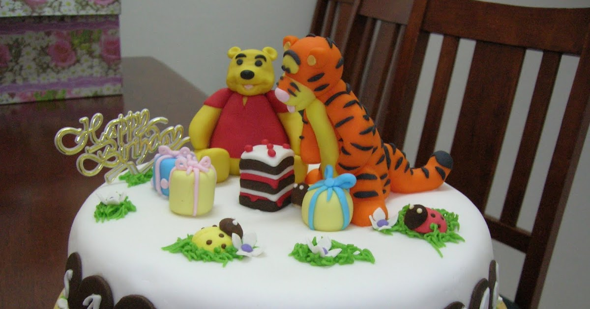 Cakes N More Winnie And Tigger Cake