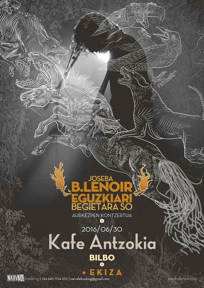 RECOMENDACIÓN!!! - 30/06/16<br> Kutxa Beltza Kafe Antzokia - Bilbao