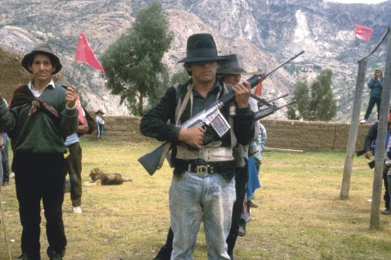 LA GUERRA POPULAR EN PERU A INICIOS DE LA DECADA DE LOS 90