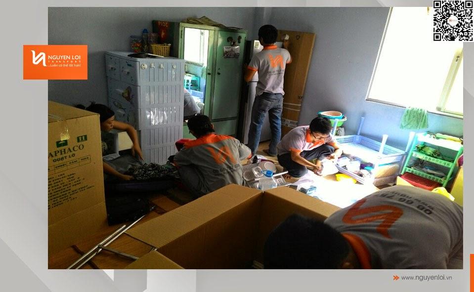 dịch vụ chuyển nhà - đóng gói