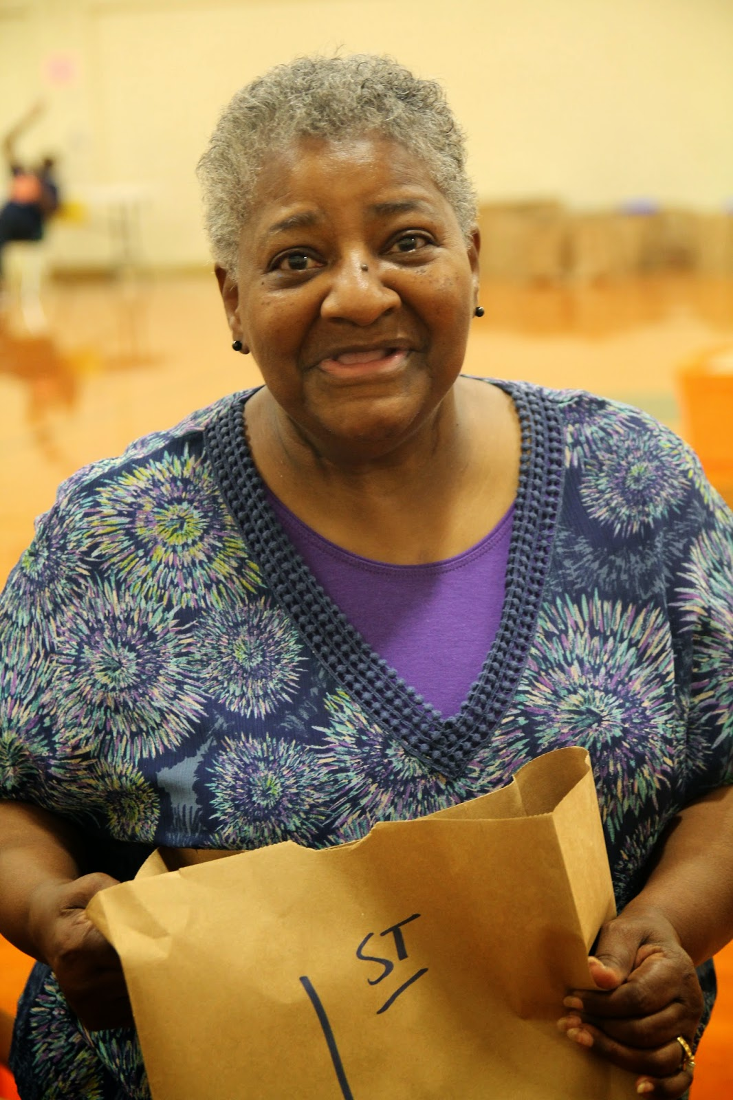 the h factor annual back to school supplies giveaway is tomorrow gloria smallwood self described oldest volunteer