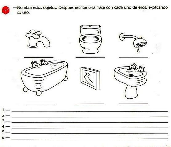 Actividades Escolares: actividades de lengua para el 1° grado