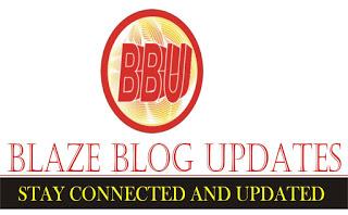 Blaze Blog Updates