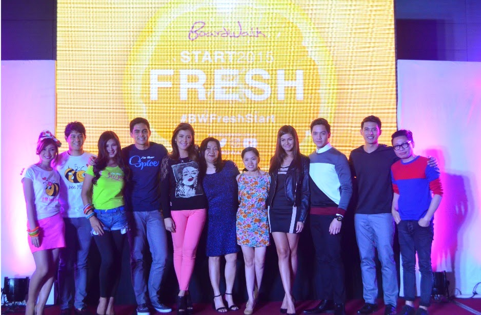 BOARDWALK FRESH START. Official launch of new faces this 2015.