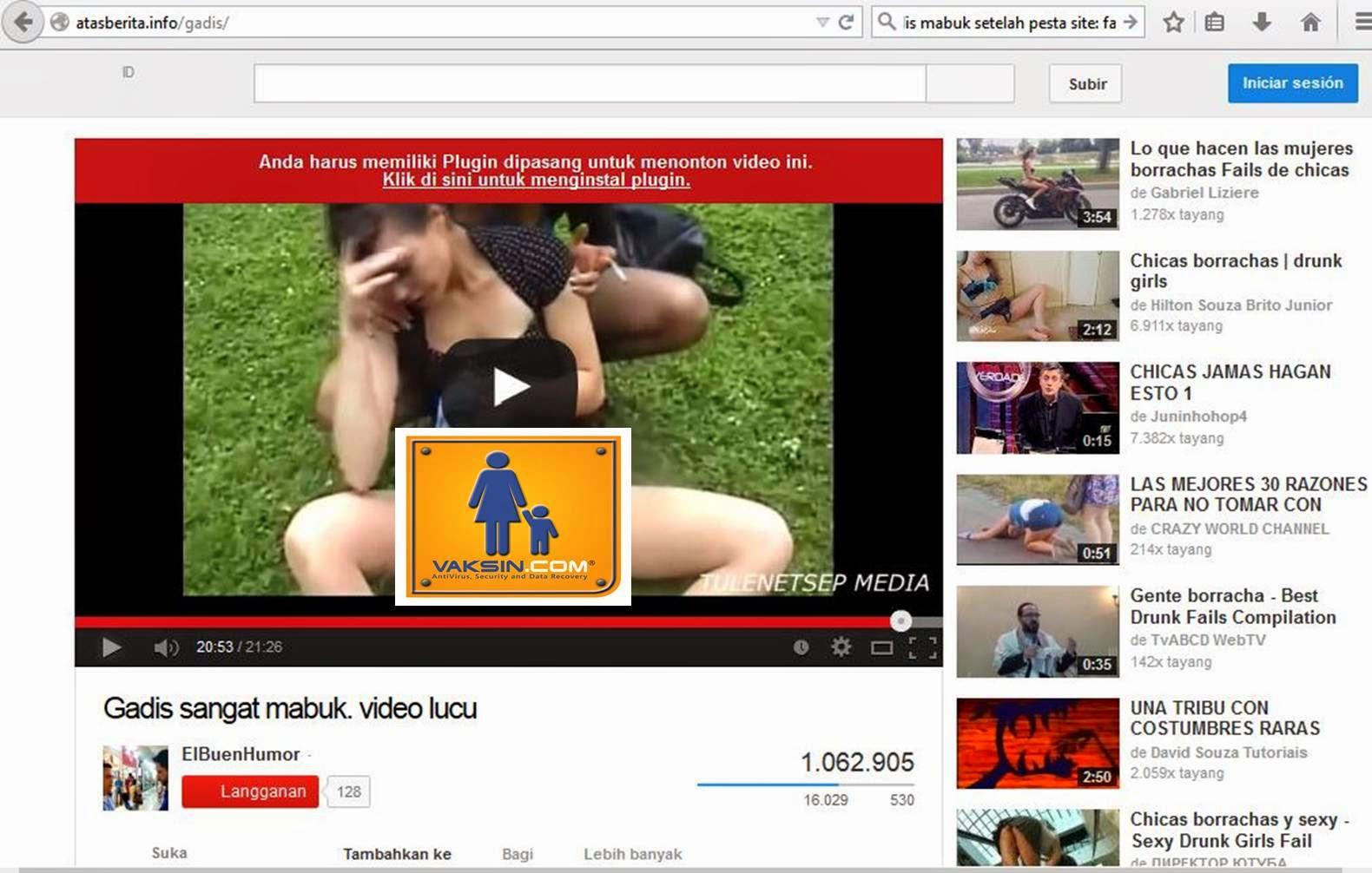 Link virus video mesum gadis mabuk
