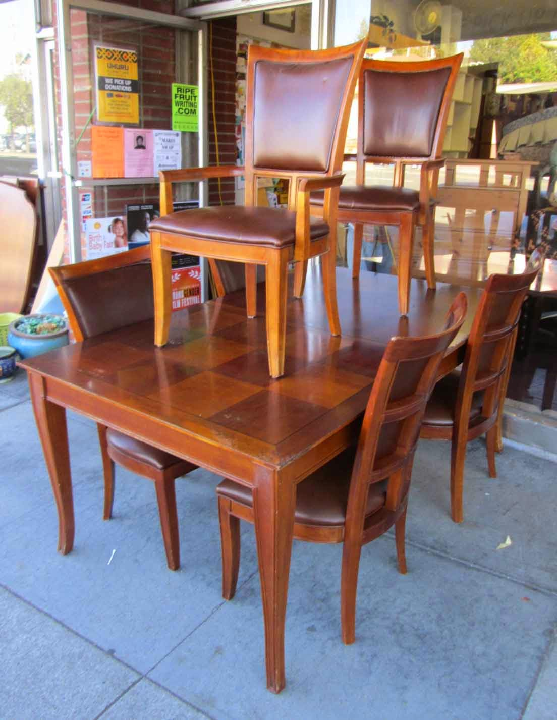 uhuru furniture collectibles sold stanley furniture dining room set