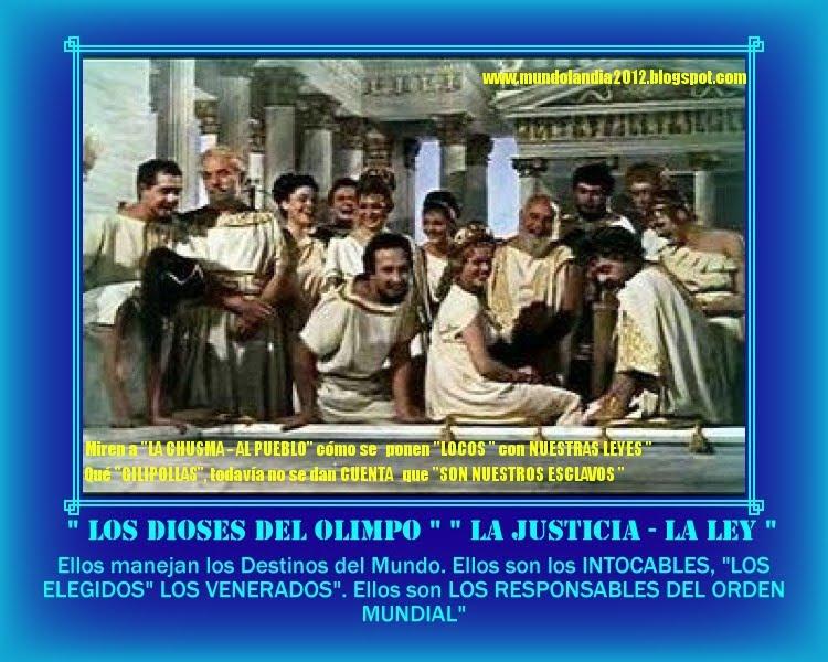 """ELLOS SON """" LOS ELEGIDOS"""" LOS DIOSES DEL OLIMPO"""" LOS INTOCABLES"""