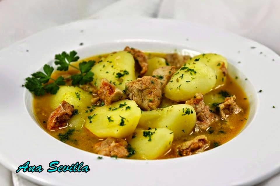Guiso de solomillo con patatas Ana Sevilla con Thermomix
