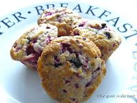 Muffins framboises et chocolat