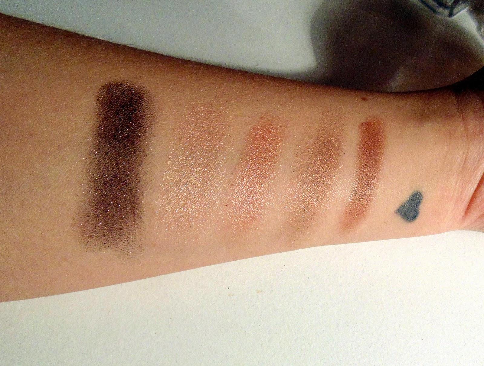 nars eyeshadow duos shimmer swatches