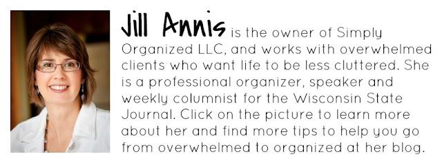Jill Annis, Professional Organizer at Simply Organized :: OrganizingMadeFun.com