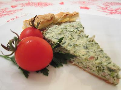torta salata ricotta e zucchine.
