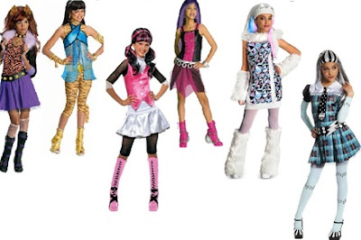 Fantasias do Monster High